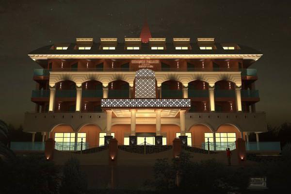 Side Orange Palace