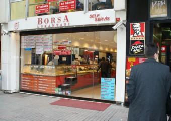 Borsa Restaurant Taksim