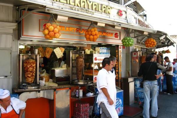 Kızılkayalar Hamburger - Taksim