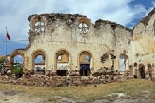 Cunda Adas� Agia Triyada Kilisesi