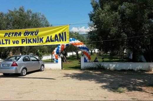 Petra �yk� Piknik Alan� D�r�m Evi