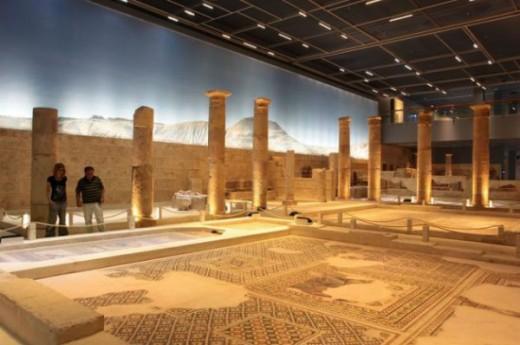 Haleplibah�e Mozaik M�zesi