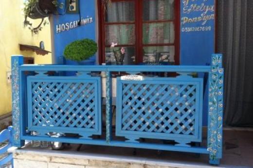 mavi balkon