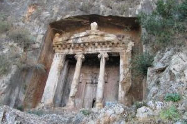 Kral Amyntas�n Mezar�