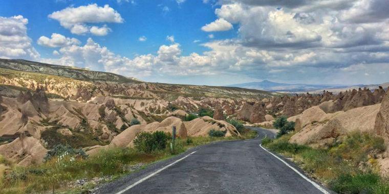 kapadokya yolu