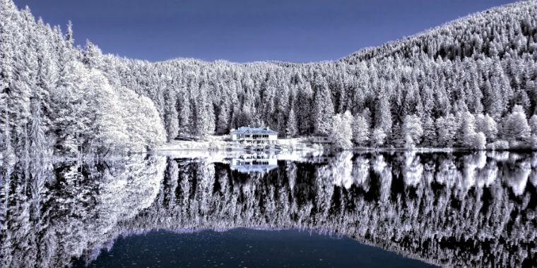 artvin kar manzarası