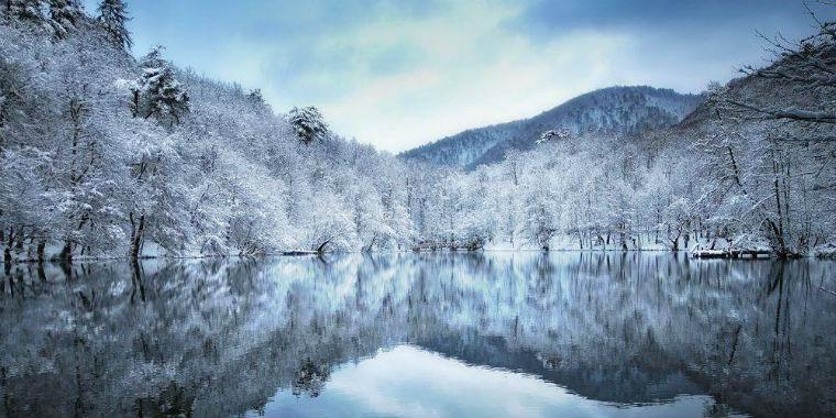 yedigöller kar manzarası