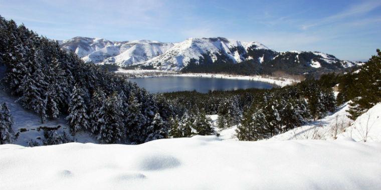 gölcük kar manzarası