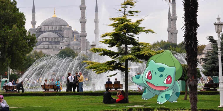 pokemon go sultanahmet sahili