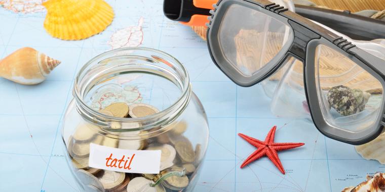tatil için para biriktirmenin yolları