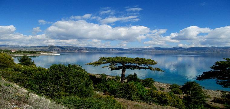 salda gölü manzarası