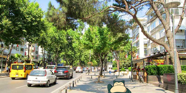pokemon go ba�dat caddesi
