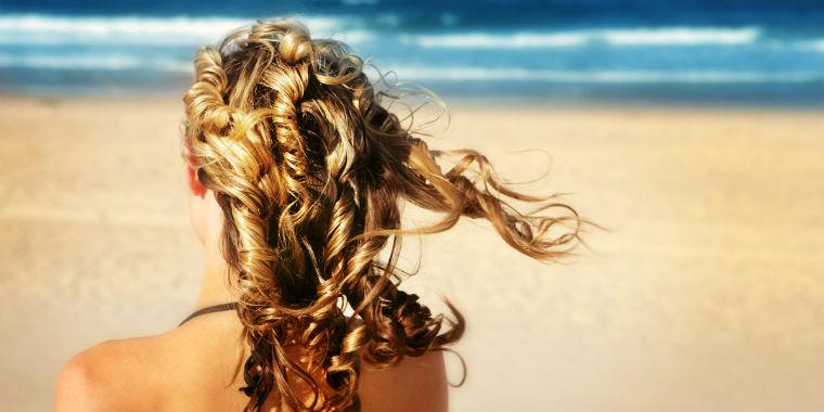 plaj saç modelleri