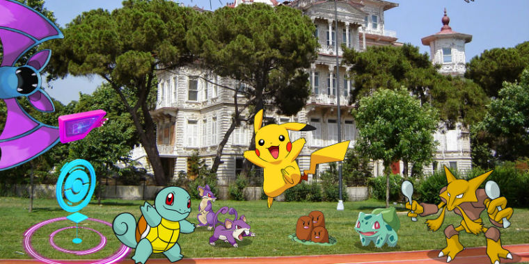 pokemon go caddebostan sahili