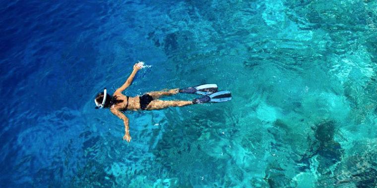şnorkelle yüzmek