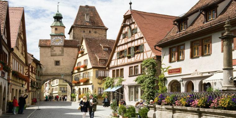 Rothenburg ob der Tauber Almanya
