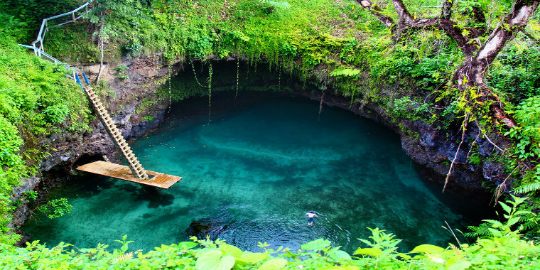 To Sua Ocean Trench - Lalomanu