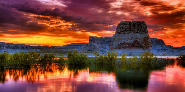 Doğanın en güzel renkleri