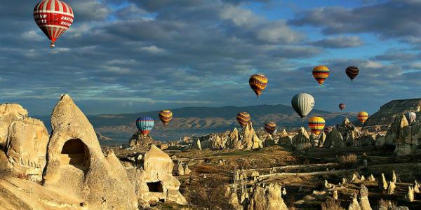 kapadokyada balon turu