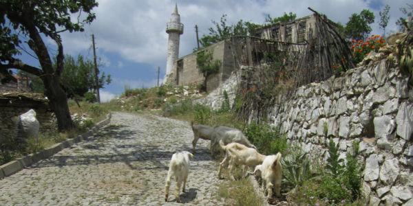 kazdağları eski güre köyü