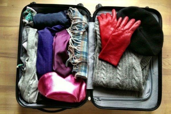 düzenli valiz hazirlamak