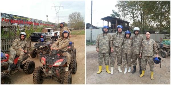 Ball�kayalar ATV safari