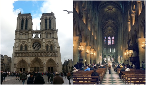 Notre Dame Katedrali Paris