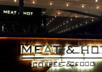Meat&Hot Coffee and Food