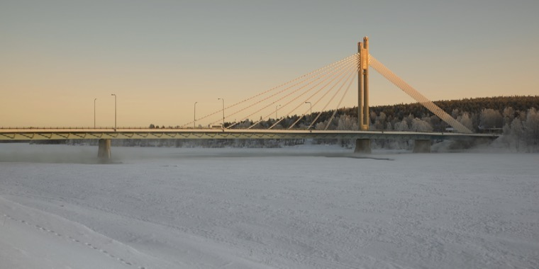 Lapland Kemi Bridge