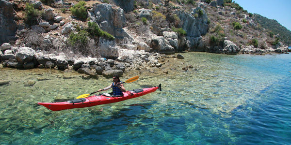 Kekova sea kayaking