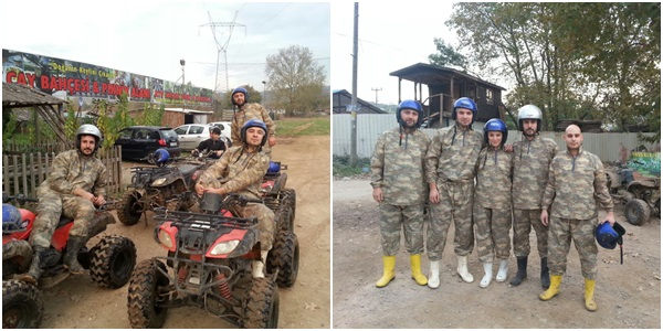 Ballıkayalar ATV safari
